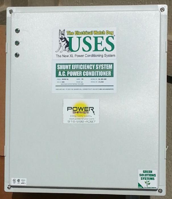 Power Shaver Energy Saving Systems — Convert Transient Energy ...